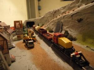 Godstog på sidespor